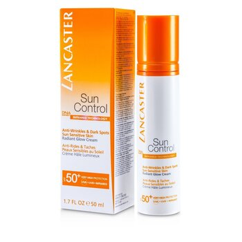 Lancaster Sun Control Face Radiant Glow Cream SPF 50+  50ml/1.7oz