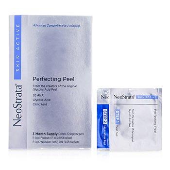 Skin Active Perfecting Peel (3 Months Supply): 13x Peel Pads 1.5ml/0.05oz, 13x Neutralizer Pads 1.5ml/0.05oz  26pcs