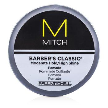 Pomada do stylizacji włosów Mitch Barber's Classic Moderate Hold/High Shine Pomade  85g/3oz