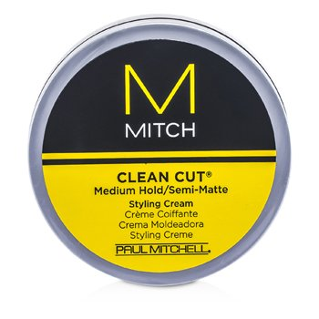 Mitch Clean Cut Medium Hold/Semi-Matte Styling Cream  85g/3oz