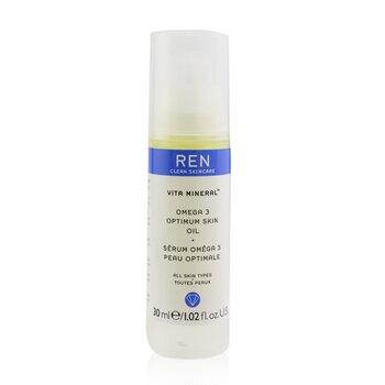 Ren Vita Mineral Omega 3 Suero Aceite de Piel �ptimo (Para Piel Seca, Sensible & Madura)  30ml/1.02oz