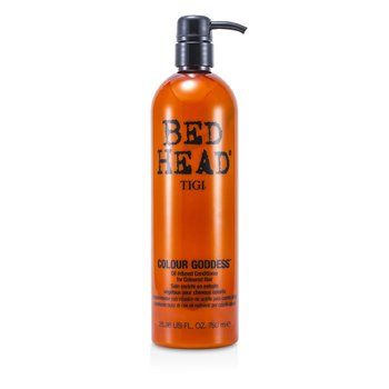 Bed Head Colour Goddess Oil Infused Conditioner - For Coloured Hair (Pump) 750ml/25.36oz