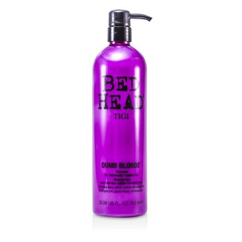 Tigi Shampoo Bed Head Dumb Blonde (Cabelos Com Quimica)  750ml/25.36oz