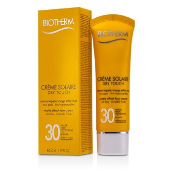 Krem do opalania do twarzy Creme Solaire SPF 30 Dry Touch UVA/UVB Matte Effect Face Cream  50ml/1.69oz