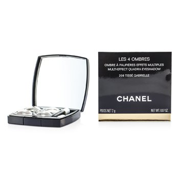 Chanel Les 4 Ombres Quadra Eye Shadow - No. 208 Tisse Garbrielle  2g/0.07oz