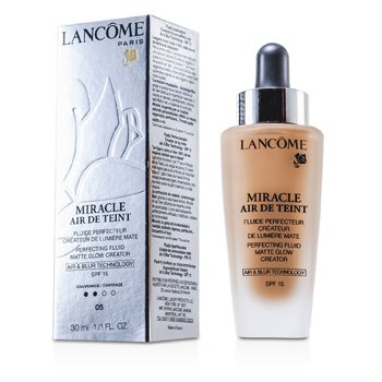 Lancôme Miracle Air De Teint Perfecting Fluid SPF 15 - # 05 Beige Noisette  30ml/1oz