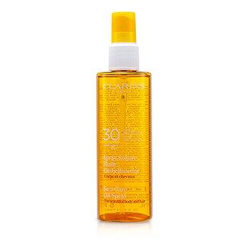 Sun Care Oil Spray SPF 30 High Protection for Body & Hair  150ml/5oz