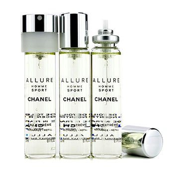 9815fad34f77 Chanel - Allure Homme Sport Eau Extreme Travel Spray Refills (3 ...
