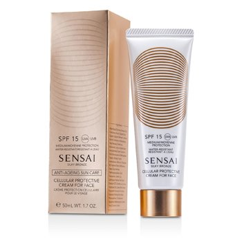 Sensai Silky Bronze Cellular Protective Cream For Face SPF 15  50ml/1.7oz