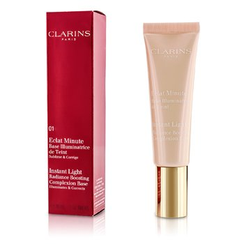 Clarins Instant Light Radiance Boosting Complexion Base - # 01 Rose  30ml/1oz