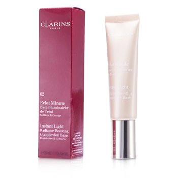 Clarins Instant Light Radiance Boosting Complexion Base - # 02 Champagne  30ml/1oz