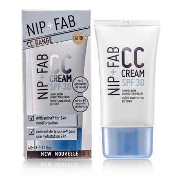 NIP+FAB Kem CC SPF 30 - # Dark  40ml/1.4oz
