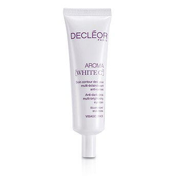 Decleor Aroma White C+ Anti-Dark Circle Multi-Brightening Eye Care (Salon Size)  30ml/1oz
