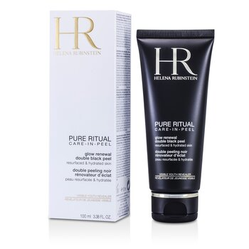 Helena Rubinstein Pure Ritual Glow Renewal Double Black Peel  100ml/3.38oz
