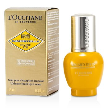 L'Occitane Creme Para Olhos Immortelle Divine Eyes Ultimate Youth  15ml/0.5oz