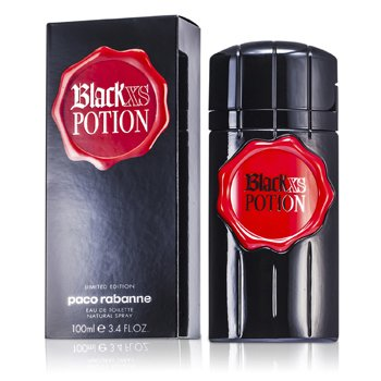 Paco Rabanne Black Xs Potion Eau De Toilette Spray (Edici�n Limitada)  100ml/3.4oz