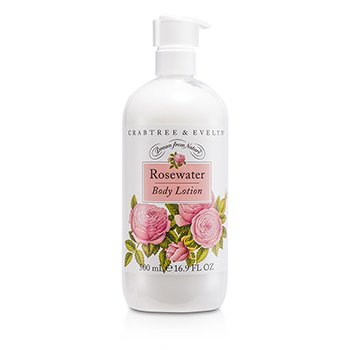 Crabtree & Evelyn Rosewater Body Lotion  500ml/16.9oz