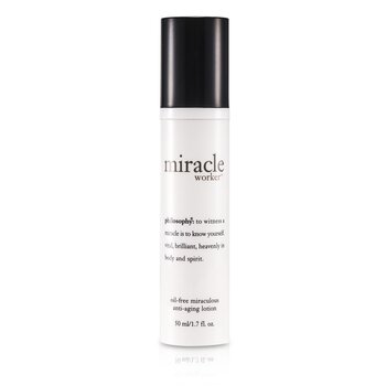 Philosophy Miracle Worker Loción Anti Envejecimiento Milagrosa Sin Aceite  50ml/1.7oz