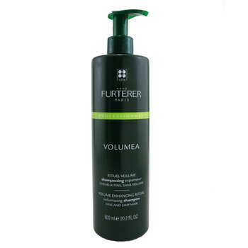 Volumea Volume Enhancing Ritual Volumizing Shampoo - Fine and Limp Hair (Salon Product)  600ml/20.2oz