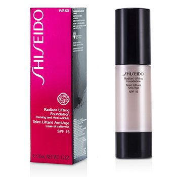 Shiseido Base Radiante Lifting SPF15 - # WB60 Natural Deep Warm Beige  30ml/1.2oz