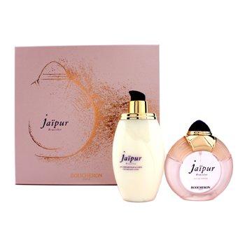 Boucheron Bộ Jaipur Bracelet : Eau De Parfum Spary 100ml/3.3oz + Sữa Dưỡng Thể 200ml/6.7oz  2pcs