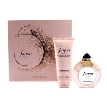 Boucheron Jaipur Bracelet Coffret: Eau De Parfum Spary 50ml/1.7oz + Loción Corporal 100ml/3.3oz  2pcs