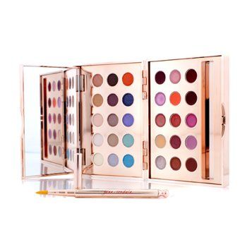 Jane Iredale Glamour Eye & Lip Palette (15XEye Shadow, 5xLip Gloss, 10xLipstick, 1xApplicator)  8.25g/0.29oz