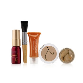 Starter Kit (6 Pieces): 1xPrimer & Brighter, 1xLoose Mineral Powder, 1xMineral Foundation, ...  6pcs