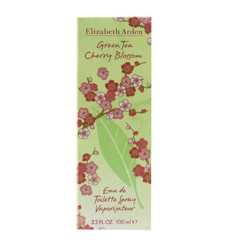 Green Tea Cherry Blossom Eau De Toilette Spray  100ml/3.3oz