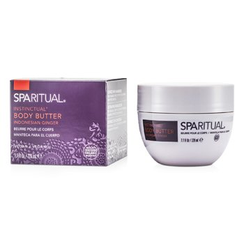SpaRitual Instinctual Body Butter - Indonesian Ginger  228ml/7.7oz