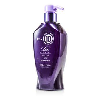 速效奇蹟絲滑洗髮露Silk Express Miracle Silk Shampoo  295.7ml/10oz