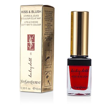 Yves Saint Laurent Baby Doll Kiss & Blush - # 06 Rouge Libertine  10ml/0.33oz
