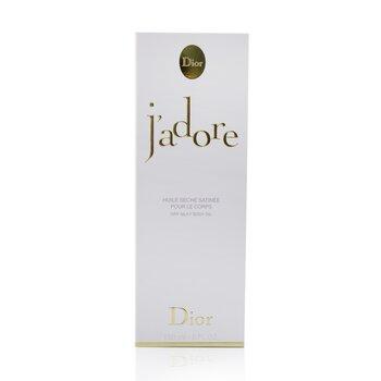 Óleo Corporal J'Adore Dry Silky 150ml/5oz