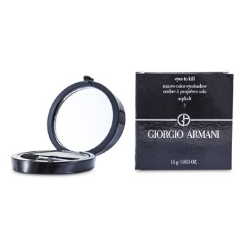 Giorgio Armani Eyes to Kill Solo Eyeshadow - # 03 Asphalt  1.5g/0.053oz
