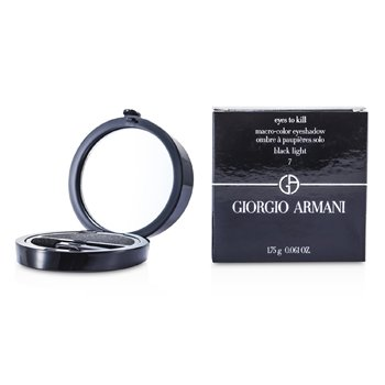Giorgio Armani Eyes to Kill Sombra de Ojos Individual - # 07 Black Light  1.75g/0.061oz