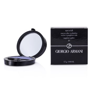Giorgio Armani Eyes to Kill Solo Eyeshadow - # 20 Sapphire Spider  1.75g/0.061oz