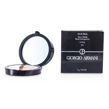 Giorgio Armani Blush Cheek Fabric Sheer - # 307 Ecstasy  4g/0.14oz