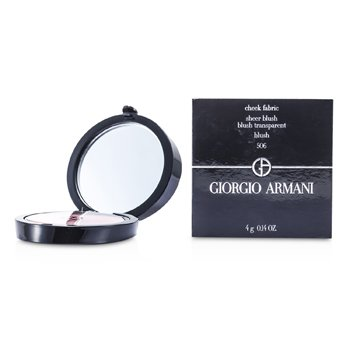 Giorgio Armani Cheek Fabric Sheer Blush - # 506 Blush  4g/0.14oz