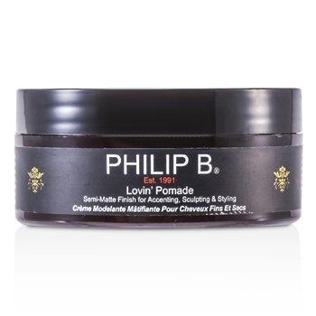 Philip B Lovin' Pomade (For Fine to Medium Hair Types)  60g/2oz