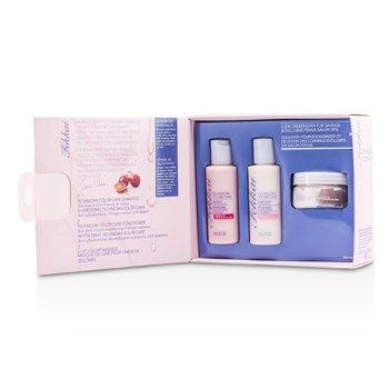 Frederic Fekkai Mini Coleção Technician Color Care: Shampoo 59ml + Condicionador 59ml + Máscara 48g  3pcs