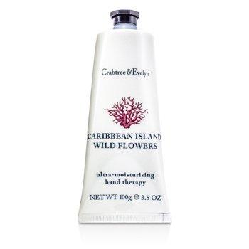 Caribbean Island Wild Flowers Ultra-Moisturising Hand Therapy  100g/3.5oz