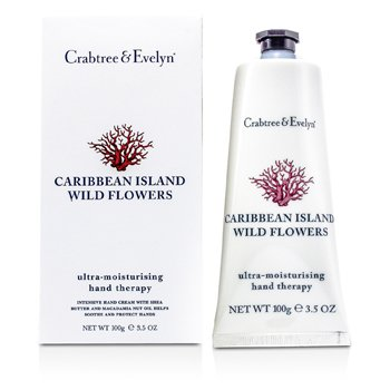 Crabtree & Evelyn Caribbean Island Wild Flowers Ultra-Moisturising Hand Therapy  100g/3.5oz