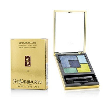 Yves Saint Laurent Couture Palette (5 Color Ready To Wear) #10 (Lumieres Majorelle)  5g/0.18oz