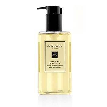Lime Basil & Mandarin Body & Hand Wash (With Pump)  250ml/8.5oz
