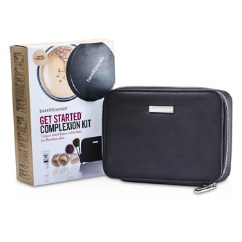 BareMinerals ชุด BareMinerals Get Started Complexion Kit For Flawless Skin - # Fairly Light  6pcs+1clutch