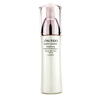 Shiseido White Lucent Brightening Protective Emulsion W SPF 18  75ml/2.5oz