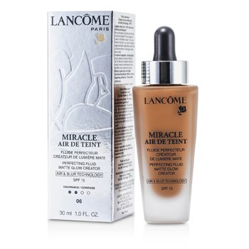 Lancome Miracle Air De Teint Perfecting Fluid SPF 15 - # 06 Beige Cannelle  30ml/1oz