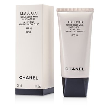 Chanel Les Beiges All In One Healthy Glow Fluid SPF 15 - No. 50  30ml/1oz