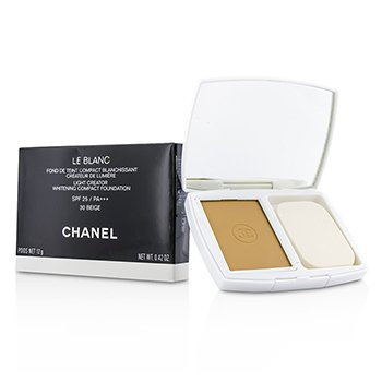 Chanel Base Compacta Le Blanc Light Creator Whitening SPF 25 - # 30 Beige  12g/0.42oz