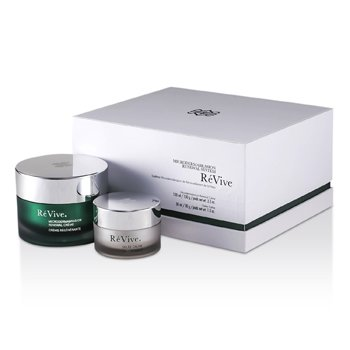 רה ויוה Microdermabrasion Renewal System: Renewal Creme 100ml/3.3oz + Gelee Calme 30ml/1oz (מארז מתנה לבן)  2pcs
